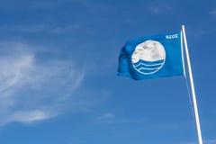 Ίδρυμα για τη σημαία ΔΙΔΑΚΤΡΩΝ περιβαλλοντικής εκπαίδευσης Στοκ Εικόνες