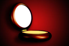 Ίδρυμα makeup Στοκ εικόνα με δικαίωμα ελεύθερης χρήσης