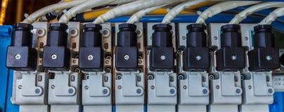 Αέρας βαλβίδων σωληνοειδών Στοκ φωτογραφία με δικαίωμα ελεύθερης χρήσης