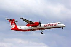 Αέρας Βερολίνο Bombardier de Havilland DHC-8 Q400 Στοκ Φωτογραφία