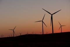 αέρας ηλιοβασιλέματος μ Στοκ Εικόνες