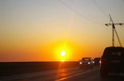 αέρας ηλιοβασιλέματος θύελλας αφαίρεσης Στοκ φωτογραφίες με δικαίωμα ελεύθερης χρήσης