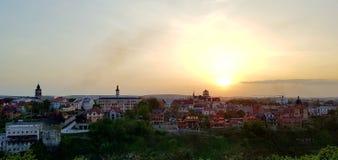 αέρας ηλιοβασιλέματος θύελλας αφαίρεσης στοκ εικόνα