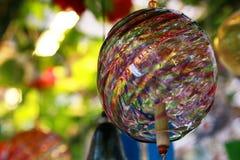 Αέρας-κουδούνι του ιαπωνικού γυαλιού Στοκ φωτογραφία με δικαίωμα ελεύθερης χρήσης