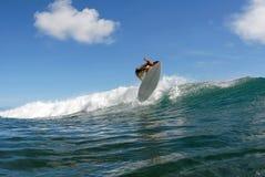 Αέρας λυκίσκου μπριζολών κυματωγών στοκ φωτογραφία
