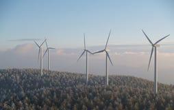 αέρας μύλων Στοκ φωτογραφία με δικαίωμα ελεύθερης χρήσης