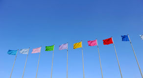 αέρας σημαιών στοκ εικόνες με δικαίωμα ελεύθερης χρήσης