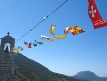 αέρας σημαιών Στοκ φωτογραφίες με δικαίωμα ελεύθερης χρήσης