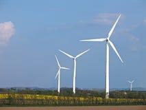 αέρας στροβίλων εναλλακτικής ενέργειας στοκ φωτογραφίες