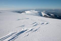 αέρας χιονιού σχηματισμού Στοκ φωτογραφία με δικαίωμα ελεύθερης χρήσης