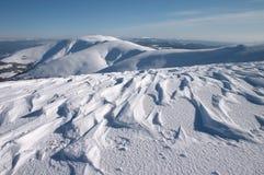 αέρας χιονιού Στοκ φωτογραφίες με δικαίωμα ελεύθερης χρήσης