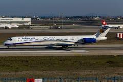 Αέρας McDonnell Douglas MD-80 Taban Στοκ εικόνες με δικαίωμα ελεύθερης χρήσης