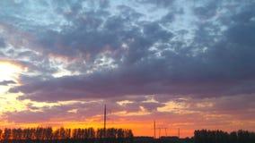 αέρα σαφές σύννεφων πρώιμο αμόλυντο xxl ουρανού πανοράματος βουνών πρωινού αρχείων χνουδωτό ελαφρύ Στοκ φωτογραφίες με δικαίωμα ελεύθερης χρήσης