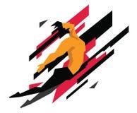 αέρα όμορφες πηδώντας νεολαίες αθλητικών τύπων ατόμων γυμνές Στοκ φωτογραφία με δικαίωμα ελεύθερης χρήσης