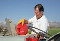 αέριο αγροτών στοκ εικόνα με δικαίωμα ελεύθερης χρήσης