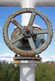 αέριο γερανών μακριά Στοκ φωτογραφίες με δικαίωμα ελεύθερης χρήσης