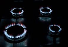 αέριο μαγείρων Στοκ εικόνα με δικαίωμα ελεύθερης χρήσης