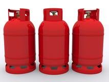 αέριο μπουκαλιών Στοκ Φωτογραφία