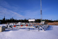 αέριο συμπιεστών φυσικό Στοκ Εικόνα