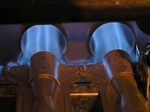 αέριο φλογών καυστήρων Στοκ φωτογραφία με δικαίωμα ελεύθερης χρήσης