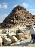 Αίγυπτος βασίλισσα Pyramids, Κάιρο Στοκ Φωτογραφία