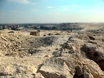 Αίγυπτος βασίλισσα Pyramids, Κάιρο Στοκ Εικόνα