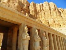 Αίγυπτος, κοιλάδα των βασιλιάδων, ναός της βασίλισσας Hatshepsut Στοκ εικόνες με δικαίωμα ελεύθερης χρήσης