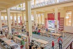 Αίθουσα αγοράς ψαριών, Φουνκάλ, Μαδέρα Στοκ εικόνες με δικαίωμα ελεύθερης χρήσης