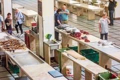 Αίθουσα αγοράς ψαριών, Φουνκάλ, Μαδέρα Στοκ Εικόνες