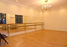 Αίθουσα για τη χορογραφία επαγγελμάτων εσωτερικός Στοκ Εικόνα