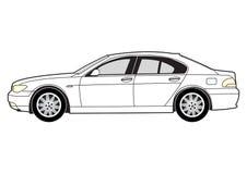 αίθουσα γραμμών αυτοκινή& απεικόνιση αποθεμάτων