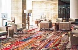 Αίθουσα εισόδων στο ξενοδοχείο στην Πορτογαλία Στοκ Εικόνα