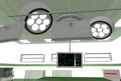 Αίθουσα λειτουργίας ωρ. 5 διανυσματική απεικόνιση
