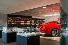 Αίθουσα εκθέσεως εμπορίας αυτοκινήτων Στοκ φωτογραφία με δικαίωμα ελεύθερης χρήσης