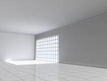 Αίθουσα εκθέσεως κενή Στοκ Εικόνα