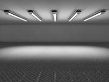 Αίθουσα εκθέσεως κενή Στοκ εικόνες με δικαίωμα ελεύθερης χρήσης