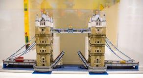 Αίθουσα εκθέσεως Κοπεγχάγη καταστημάτων Lego Στοκ Φωτογραφίες