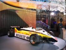 Αίθουσα εκθέσεως της Renault Στοκ Φωτογραφία