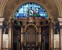 αίθουσα εσωτερικό Λίβερπουλ ST UK Georges Στοκ εικόνα με δικαίωμα ελεύθερης χρήσης