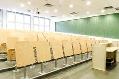 Αίθουσα διάλεξης Στοκ Φωτογραφία