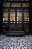 Αίθουσα διαβίωσης στο μέγαρο Cheong Fatt Tze Στοκ εικόνα με δικαίωμα ελεύθερης χρήσης