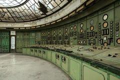 Αίθουσα διανομής ηλεκτρικής ενέργειας στη βιομηχανία μετάλλων Στοκ φωτογραφία με δικαίωμα ελεύθερης χρήσης