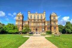 Αίθουσα και πάρκο Νόττιγχαμ Νόττιγχαμ, UK, Αγγλία Wollaton στοκ φωτογραφία με δικαίωμα ελεύθερης χρήσης