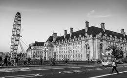 Αίθουσα κομητειών στο Λονδίνο - το ΛΟΝΔΙΝΟ - τη ΜΕΓΑΛΗ ΒΡΕΤΑΝΊΑ - 19 Σεπτεμβρίου 2016 Στοκ Εικόνες