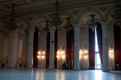 Αίθουσα μέσα στο παλάτι του Κοινοβουλίου Στοκ Εικόνες