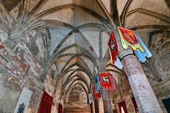 αίθουσα μεσαιωνική Στοκ φωτογραφία με δικαίωμα ελεύθερης χρήσης