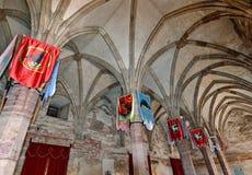 αίθουσα μεσαιωνική Στοκ Φωτογραφίες