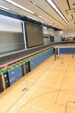 Αίθουσα μπάντμιντον Χονγκ Κονγκ Hang Hau στο αθλητικό κέντρο Στοκ Εικόνα