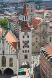αίθουσα Μόναχο πόλεων παλαιό Στοκ φωτογραφία με δικαίωμα ελεύθερης χρήσης