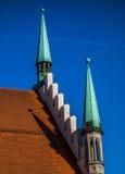 αίθουσα Μόναχο της Γερμανίας πόλεων παλαιό Στοκ Φωτογραφία